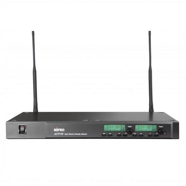 下單再折1000 MIPRO 米波羅 1U 2CH 模組化 自動選訊 無線麥克風 ACT-99/ACT-32H*2(MU-70)  請輸入優惠代碼D1000 刷卡分6期0利率,MIPRO,米波羅,無線麥克風,ACT99,ACT32H2,MU70, 接收機