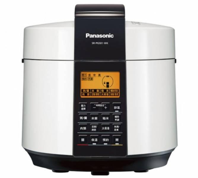Panasonic 國際牌 5L電氣壓力鍋 SR-PG501 Panasonic,國際牌,5L,電氣,壓力鍋,SR-PG501