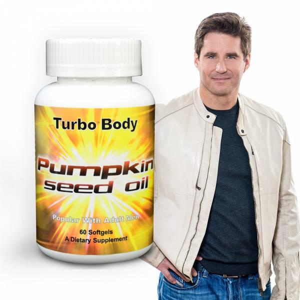雙12特惠-Turbo Body 南瓜籽油(60顆入)