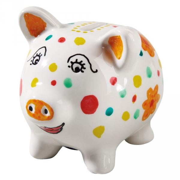 【JAKO-O】創意手繪存錢筒-豬 JAKO-O,兒童創意手作,親子關係,DIY,生活藝術,創意diy,親子