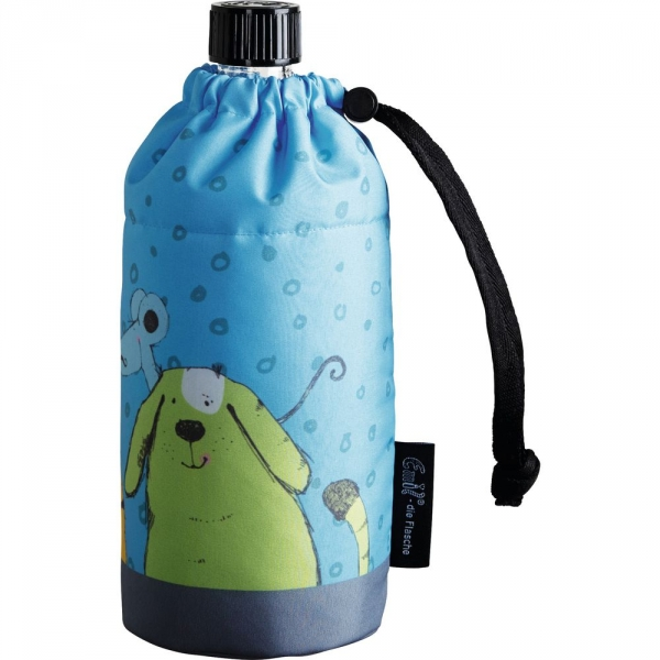 【JAKO-O】Emil®玻璃冷水壺附保護套400ml-動物 水杯,水壺,保冷杯