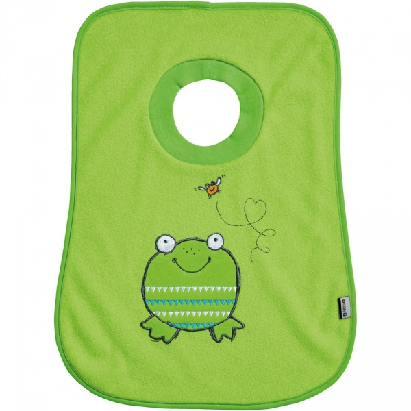【JAKO-O】趣味動物圍兜–青蛙 圍兜兜,口水袋,德國,JAKO-O,新生兒,嬰幼兒,育兒