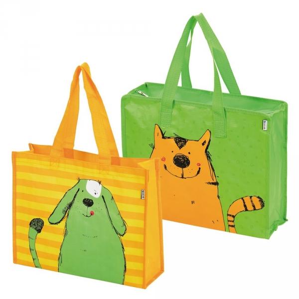 【JAKO-O】動物派對收納袋組-小(2入) 德國,JAKO-O,生活學習,收納袋,購物袋,袋子,收納整理,居家生活