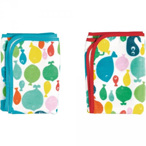 【JAKO-O】海底世界毛巾組(2入) 德國,JAKO-O,毛巾,浴巾,戲水,擦澡巾,洗澡,寶寶,浴室,居家,生活
