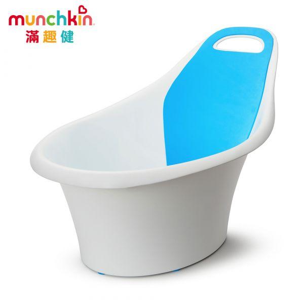 munchkin滿趣健-嬰兒防滑坐式浴盆 幼童 玩水 安全 戲水 游泳