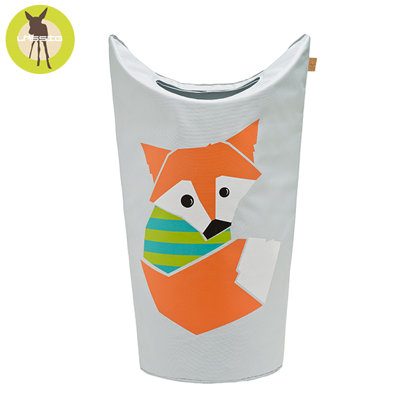 德國LASSIG-洗衣收納袋-小狐狸 玩具收納,德國lassig