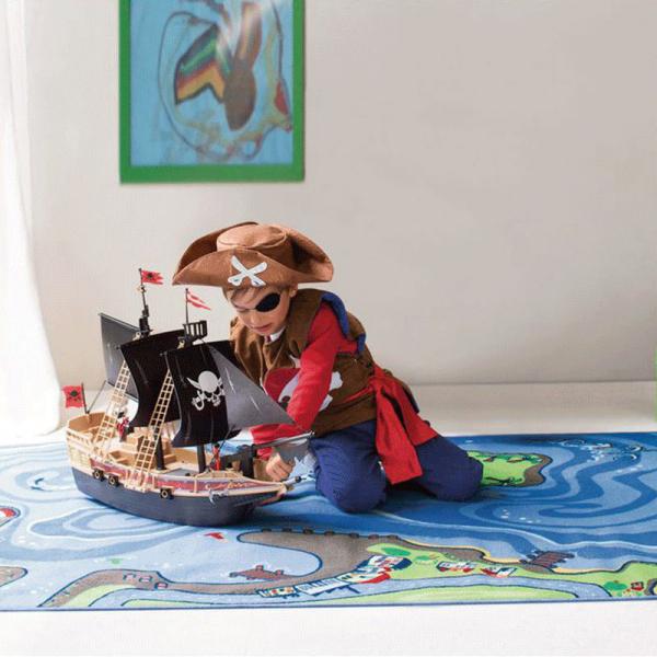 【JAKO-O】遊戲地墊-海盜 地墊,地毯,遊戲墊