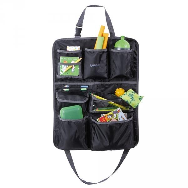 【JAKO-O】車用座椅收納袋–黑(椅背置物袋/汽車收納袋/椅背掛袋/) 車用收納袋,吊掛袋,收納,椅背掛袋,手提袋,置物袋