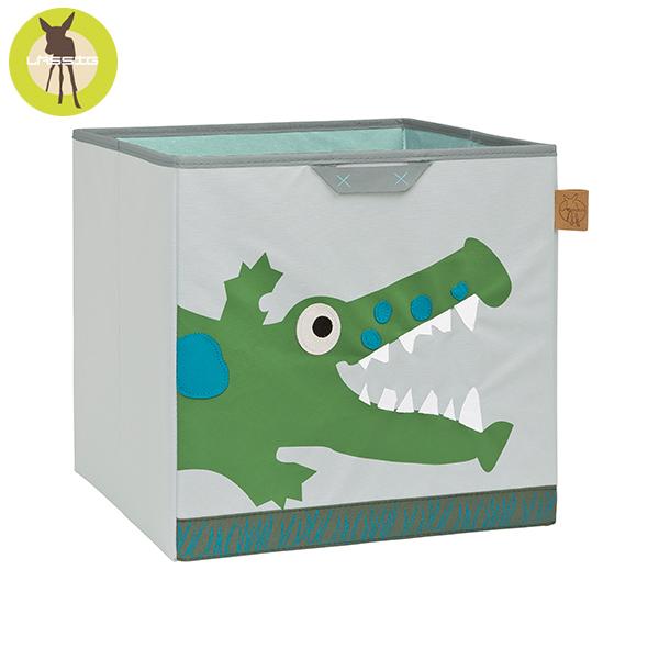 德國LASSIG-玩具儲物箱-小鱷魚 玩具收納,德國lassig