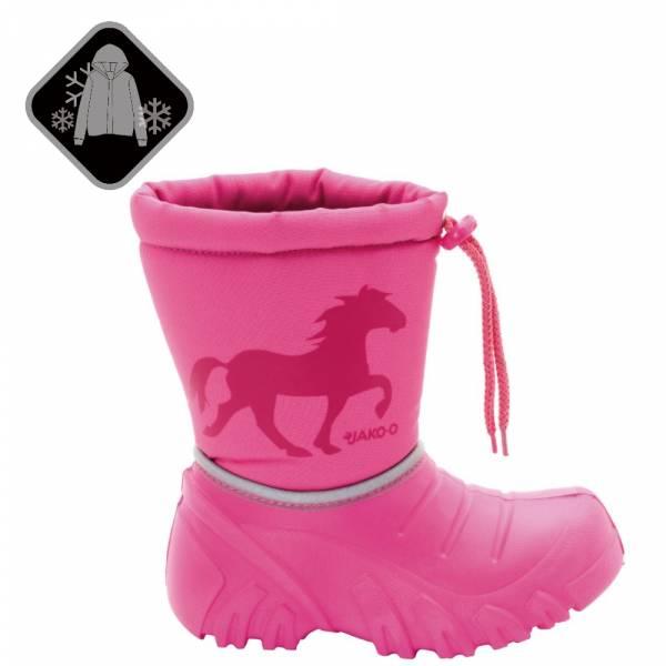 【JAKO-O】輕量型防水防風保暖靴-粉 (兒童雪靴)  兒童雪靴,寶寶雪靴,兒童雪衣