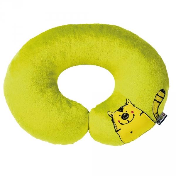 【JAKO-O】動物兒童頸枕-綠 德國,JAKO-O,一枕多用,療癒舒壓,夜晚好入眠,提供安全感,柔軟舒適,抱枕,生活家居