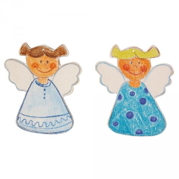 【JAKO-O】DIY造型著色版-守護天使(36入) 手作,創作,兒童勞作,紀念品,禮品
