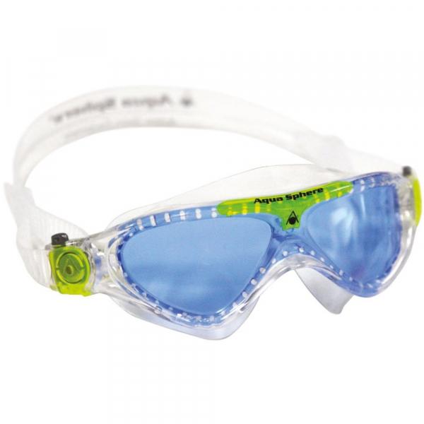 【JAKO-O】Aqua Lung 防霧游泳面鏡-藍綠 游泳,泳鏡,兒童