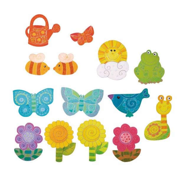 【JAKO-O】穿刺手作組–春天來了 兒童創意手作,親子關係,DIY,蛋蛋,復活節,兔兔