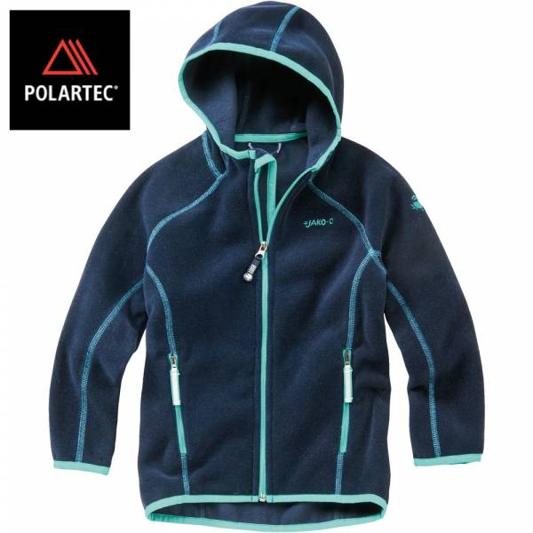 【JAKO-O】POLARTEC®連帽外套(海軍藍) 機能外套,兒童外套,POLARTEC