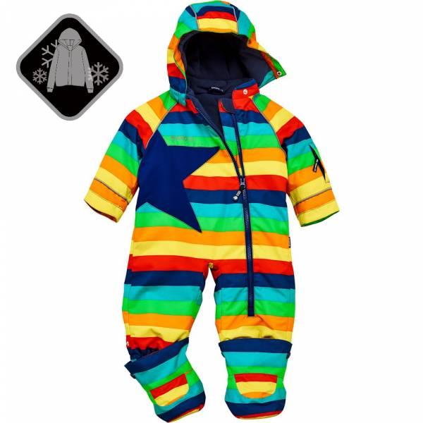 【JAKO-O】經典星星全身防護雪衣-彩虹 (兒童雪衣) 雪衣外套,兒童雪衣,連身雪衣