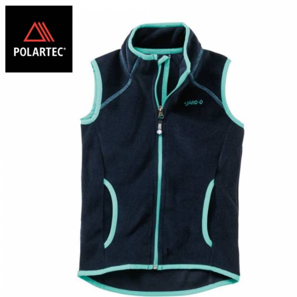 【JAKO-O】POLARTEC®保暖背心(海軍藍) 機能外套,兒童背心,POLARTEC