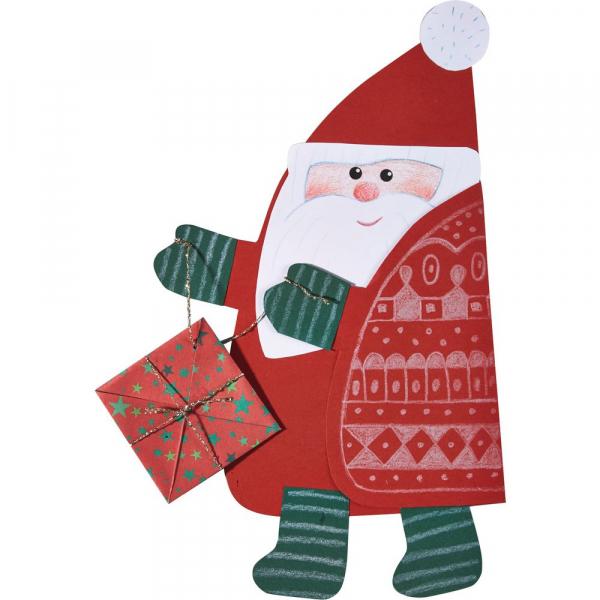 【JAKO-O】手作創意聖誕老公公(3入) 手作,創作,兒童勞作,