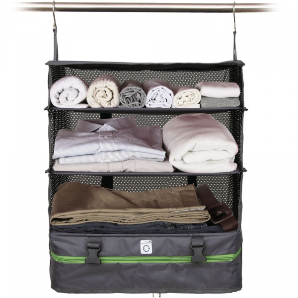 【JAKO-O】行李分層收納掛架(大)-灰色 置物架,架子