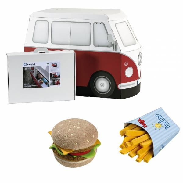 【JAKO-O】VW快餐車漢堡超值組 扮家家酒,VW福斯車,角色扮演,汽車,玩具