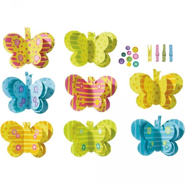 【JAKO-O】創意手作組–立體蝴蝶 JAKO-O,兒童創意手作,親子關係,DIY,生活藝術,創意diy,親子