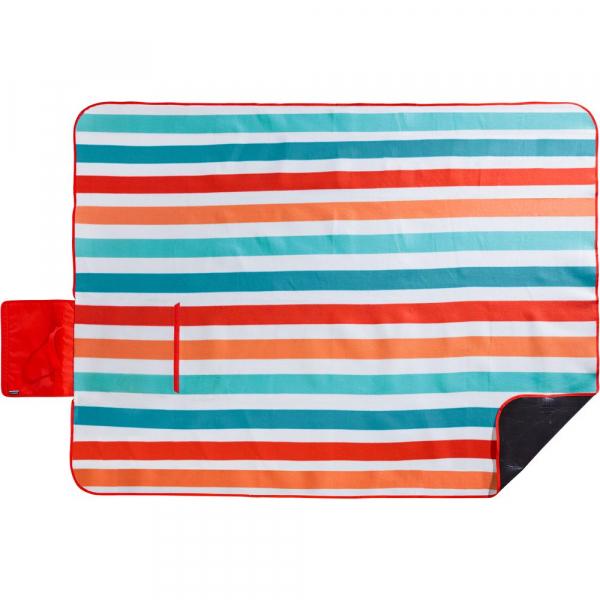 【JAKO-O】粉嫩條紋沙灘巾/野餐墊 野餐墊,地墊,露營,沙灘