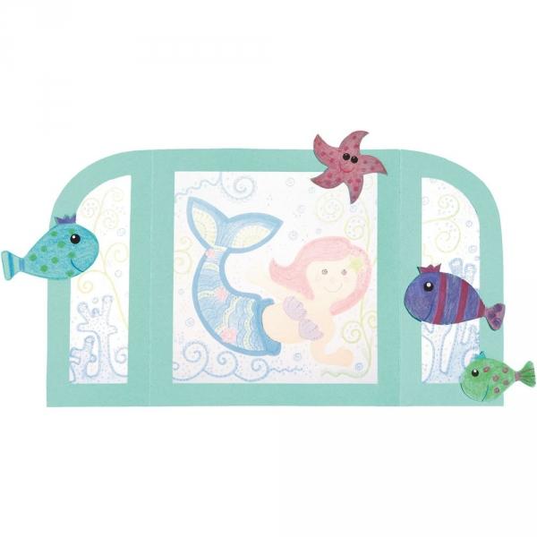 【JAKO-O】手作創意勞作-美人魚 手作,創作,兒童勞作,紀念品,禮品