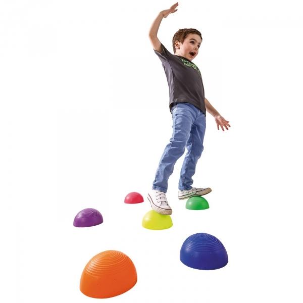 【JAKO-O】平衡遊戲塑膠石頭 JAKO-O,幼兒運動,直排輪,手眼協調,平衡感,滑板車,滑步車,競賽,遊戲,團康