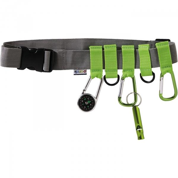 【JAKO-O】探險家裝備腰帶 露營,步道,爬山,腰包,兒童,鉤環,口哨,求生
