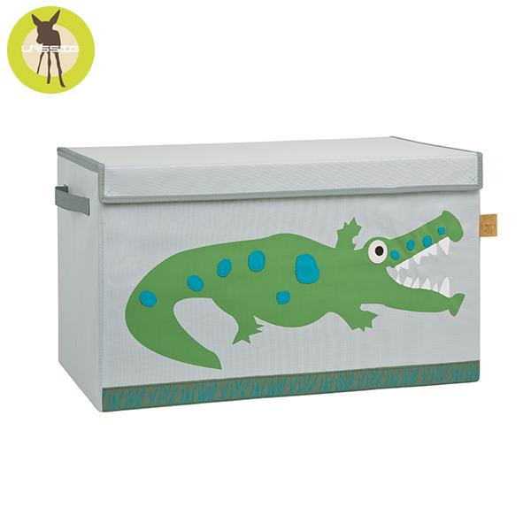 德國LASSIG-玩具收納箱-小鱷魚 玩具收納,德國lassig