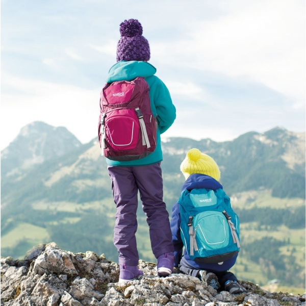 【JAKO-O】deuter 健行遠足背包-紫桃紅 德國,JAKO-O,deuter,健行,背包,戶外,親子露營,郊遊,背包,步道,爬山,兒童