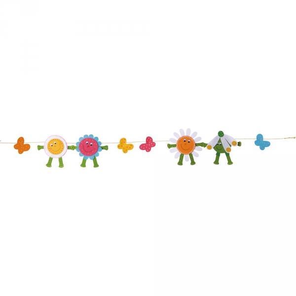 【JAKO-O】創意毛氈手作組–春日草地花圈 JAKO-O,兒童創意手作,親子關係,DIY,生活藝術,創意diy,親子