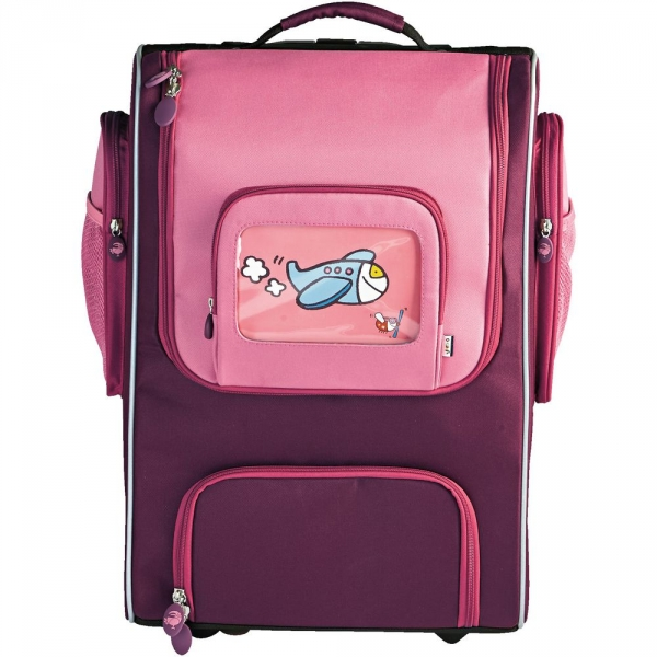 【JAKO-O】多用途拉桿書包(28公升)–粉紅色 書包,背包,包包,行李箱