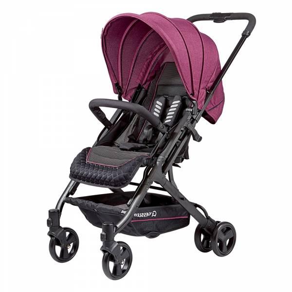 GESSLEIN S8歐風輕休旅嬰兒手推車(珊瑚紫) 嬰兒推車,新生兒,輕量