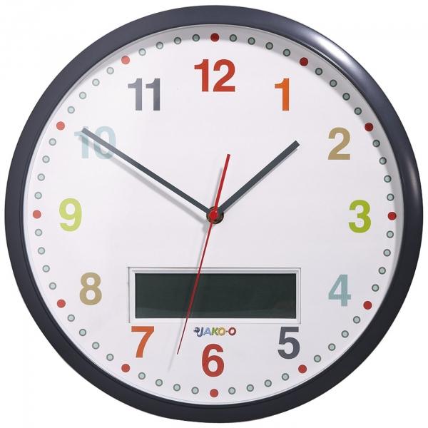 【JAKO-O】早晨管理時鐘 時鐘,鬧鐘,分段鬧鈴,兒童時間管理,上學