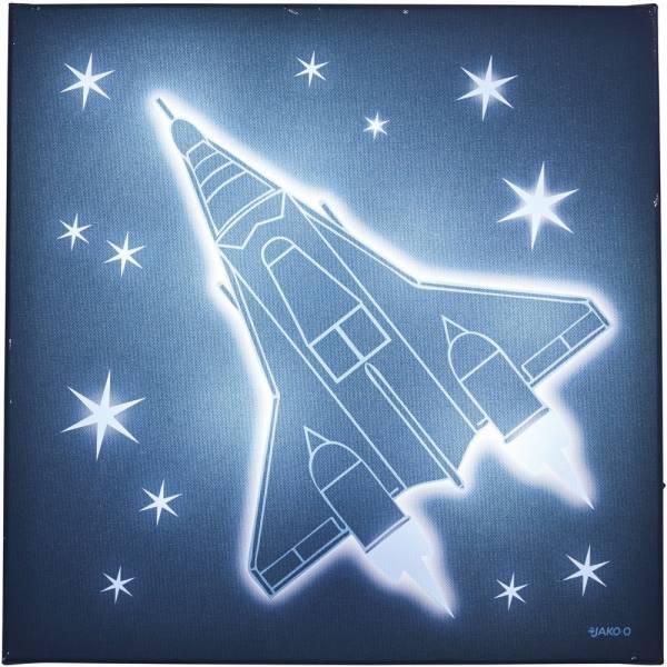 【JAKO-O】LED裝飾夜燈(火箭) 兒童房,夜燈,兒童安撫