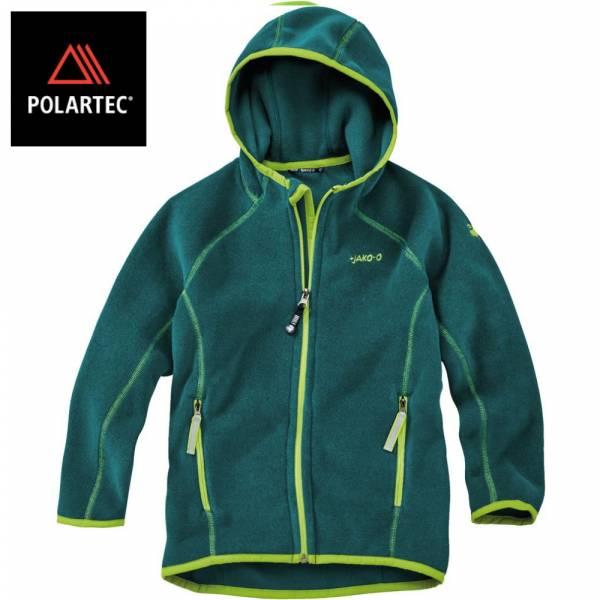 【JAKO-O】POLARTEC®連帽外套(深綠) 機能外套,兒童外套,POLARTEC