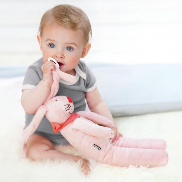 【JAKO-O】兔子玩偶-粉紅 玩偶,安撫,玩具,抱枕