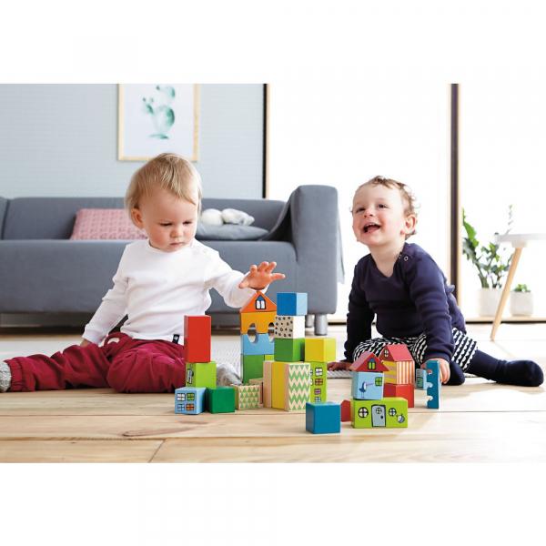 【JAKO-O】HABA 寶貝的第一個積木組 積木,紙積木,益智玩具,認識數字