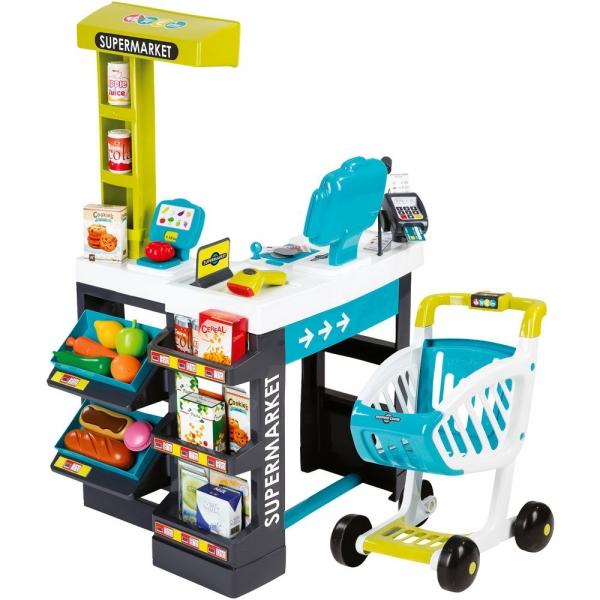 【JAKO-O】小小超市玩具組(41件組) 家家酒,超市,超級市場,益智玩具