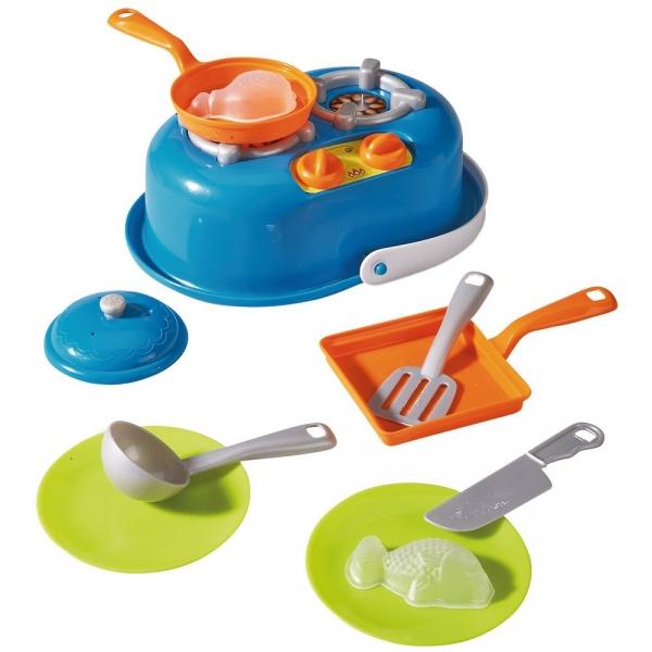 【JAKO-O】沙灘廚房玩具組(11件) 沙灘玩具,玩具