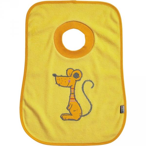 【JAKO-O】趣味動物圍兜–老鼠 圍兜兜,口水袋,德國,JAKO-O,新生兒,嬰幼兒,育兒
