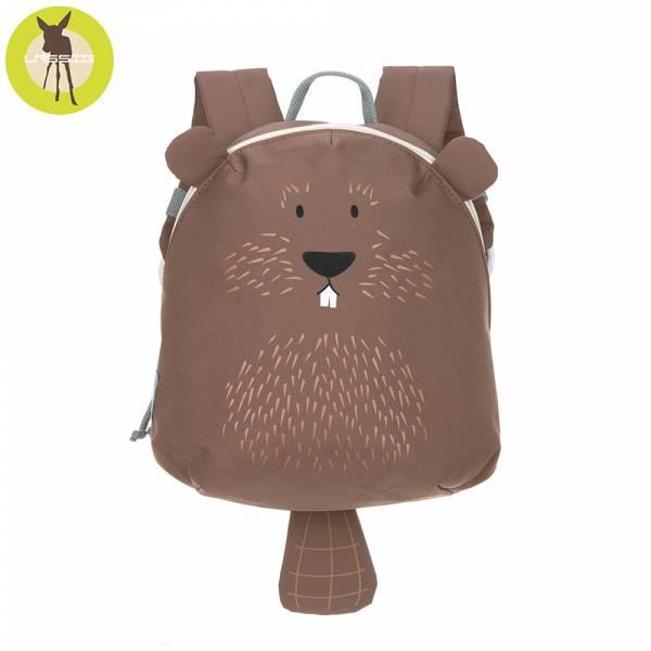 德國LASSIG-兒童動物造型後背包-海狸