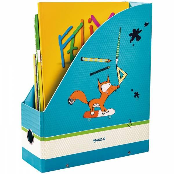 【JAKO-O】雜誌箱-青藍(2入) 德國,JAKO-O,雜誌箱,雜誌盒,公文架,文件架,文具,筆,筆筒,收納,資料夾,分類夾,雜誌夾