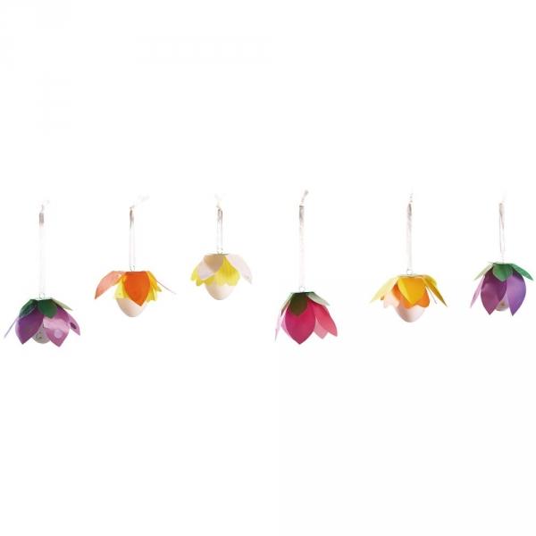 【JAKO-O】創意手作組–吊掛花朵(12入) JAKO-O,兒童創意手作,親子關係,DIY,生活藝術,創意diy,親子