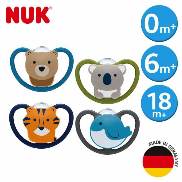 德國NUK-SPACE超透氣矽膠安撫奶嘴(顏色隨機出貨) NUK,sensitive