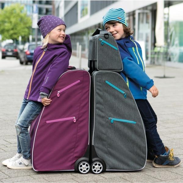 【JAKO-O】附輪行動衣櫥(5層)-藍 旅行,衣櫥,行李,親子出遊