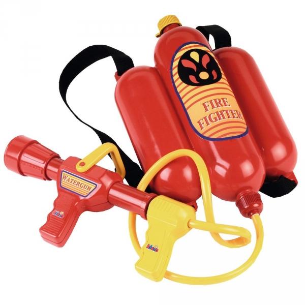 【JAKO-O】夏日戲水玩具組–消防員水槍(玩沙/戲水) 沙灘玩具,玩具,水槍,消防員,德國,JAKO-O,潑水,戲水,沙灘,海邊,水仗