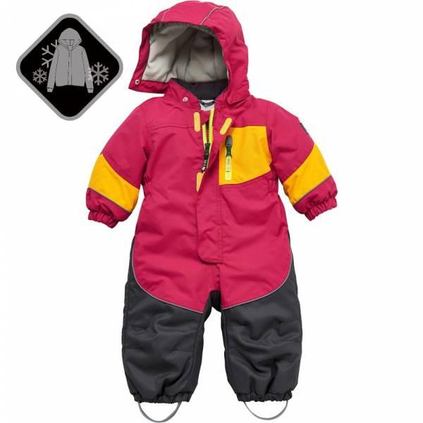 【JAKO-O】可拆式連帽鋪棉保暖雪衣-葡萄紅 (兒童雪衣)  雪衣外套,兒童雪衣,連身雪衣