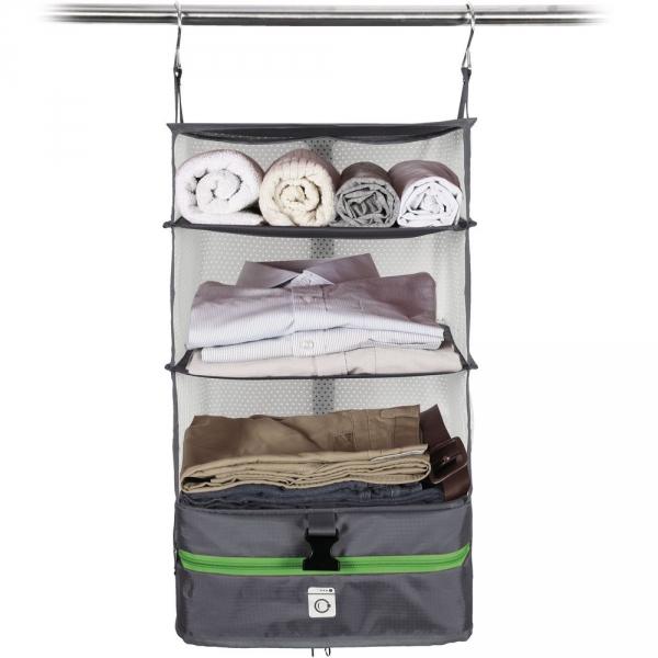 【JAKO-O】行李分層收納掛架(小)-灰色 置物架,架子,掛架,收納